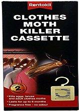 6 Packs Of Rentokil Moth Killer Hanging Unit