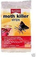 6 Packs Of Rentokil Moth Killer Strips Twin Pack