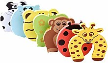 BYFRI Baby Safety Door Guard /& Finger Protector Stoppers Jammer 6 Pieces