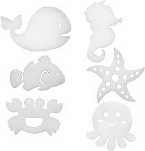 6 Pcs Oil Absorbing Scum Sponge, Cutie Animal