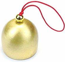 æ— 6 Pcs Vintage Jingle Bells, Pure Copper Wind