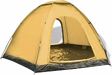 6-person Tent Blue and Yellow