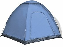 6 Person Tent Freeport Park Colour: Blue