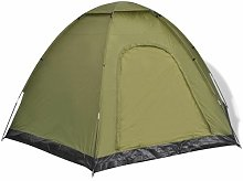 6 Person Tent Freeport Park Colour: Green