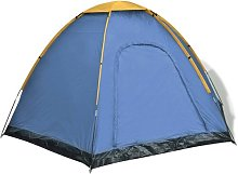 6 Person Tent Freeport Park Colour: Yellow