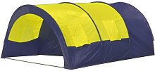 6 Person Tent Sol 72 Outdoor Colour: Blue/Yellow