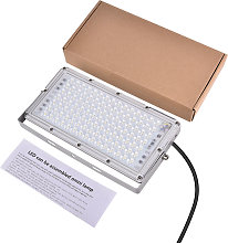 6 Piece 100W LED Module Floodlights Security Cool