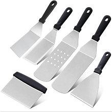 6-piece barbecue spatulas BBQ professional hot