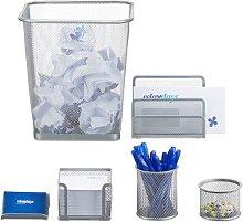 6 Piece Desk Organiser Set Symple Stuff Colour: