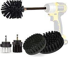 6 Piece Drill Brush Attachment Kit, Aufisi Power