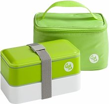6-Piece Lunch Box Set Symple Stuff Colour: Green
