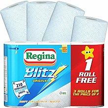 6 Rolls Blitz Kitchen Regina Paper Towels / Sheets
