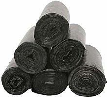 [ 6 Rolls] Plastic Dustbin Bin Liners, Trash Bag