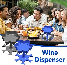 6 Shot Glass Dispenser and Holder Wine Pourer