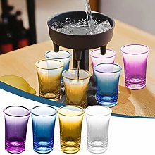 6 Shot Glass Pourers and Holder, Multiple