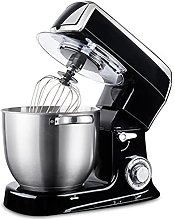 6-Speed Kitchen Food Stand Mixer, Cream Egg Whisk