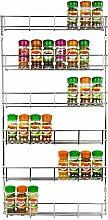 6 Tier Shelves Kitchen Spice Jar Storage Rack