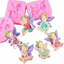 6 Types Fairy Baby Silicone Mold Chocolate