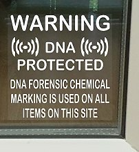 6 x DNA Item Marking Protected Stickers for