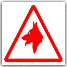 6 x Guard Dogs Logo Design-Red on White,External