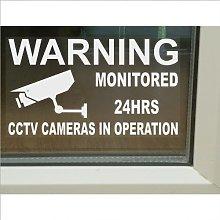 6 x Large-150x87mm-Warning Window