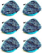 6 x Microfibre Coral Steam Mop Pads Fits VAX S2