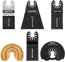 6 x Saxton Blades Quick Fit Mix (b) for Dewalt