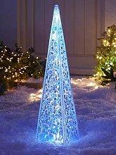 60 Cm Acrylic Tower Outdoor Christmas Light