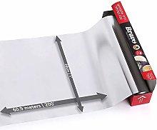 60 Meter Aluminum Silver Foil Wrap ~ Heavy Duty