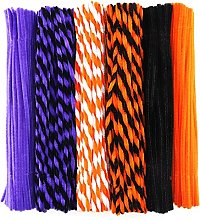 600 Pieces Pipe Cleaners,Halloween Pipe Cleaners