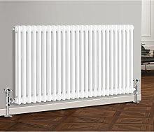 600 x 1190 mm Traditional White Horizontal Cast