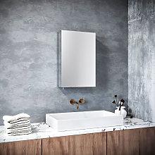 600 x 400 mm Stainless Steel Bathroom Mirror