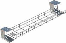 600mm (60cm) Long Premier Under Desk Cable Tray