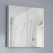 600mm Bathroom Mirror Cabinet Two Door Cupboard