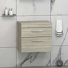 600mm Bathroom Vanity Unit 2- Drawer Wall Hung