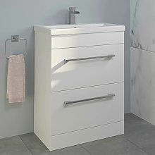600mm Bathroom Vanity Unit Basin Drawer Cabinet