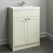 600mm Bathroom Vanity Unit Basin Storage Cabinet