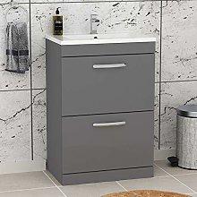 600mm Floor Standing Bathroom Vanity Unit