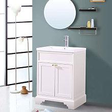 600mm Ivory Traditional Floor Standing Bathroom