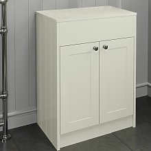 600mm Ivory Traditional Vanity Unit Countertop