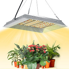 600W LEDs Grow Light with Hanging Chains Rope Full