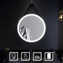600x600mm Belt Decorative Round Illuminated LED
