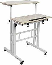 60cm Adjustable Height Stand Up Laptop Desk