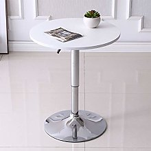 60cm Round Bar Tables with Adjustable Height &