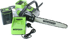60v Warrior Chainsaw with Battery and Charger