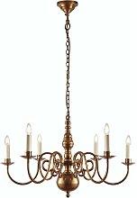 60W Brass Chamberlain Pendant