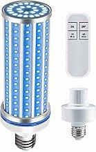 60W UV Germicidal Lamp, E27 Base UVC LED Light