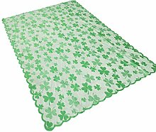 60x84Inch Clover Lace Table Runners for S t.
