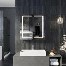 650x600mm Illuminated Cabinet with Light,