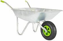 65l Wheelbarrow With Galvanised Pneumatic Tyre